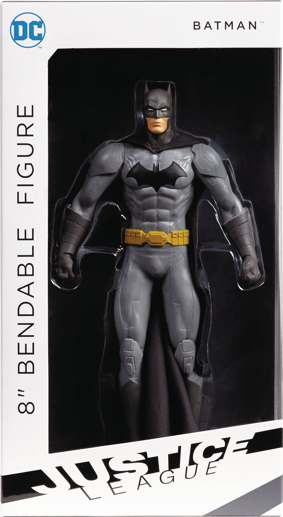 NEW 52 BATMAN 8IN BENDABLE FIGURE (NET) (C: 1-1-2)