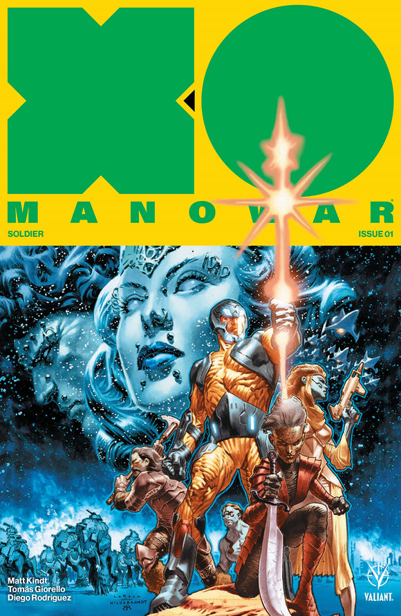 (USE FEB178392) X-O MANOWAR (2017) #1 3RD PTG