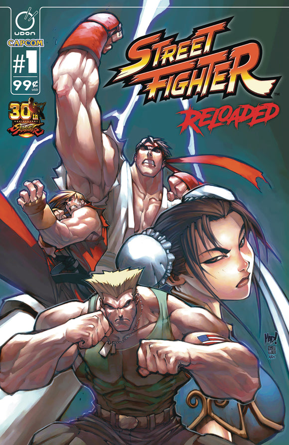 STREET FIGHTER RELOADED #1 (OF 6)