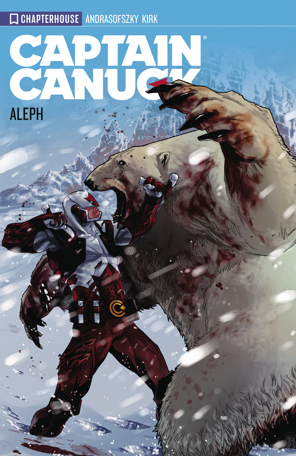 CAPTAIN CANUCK TP VOL 01 ALEPH (NEW ED) (RES) (C: 0-0-1)