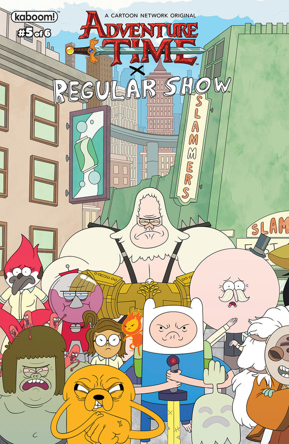 ADVENTURE TIME REGULAR SHOW #5 MAIN & MIX (C: 1-0-0)