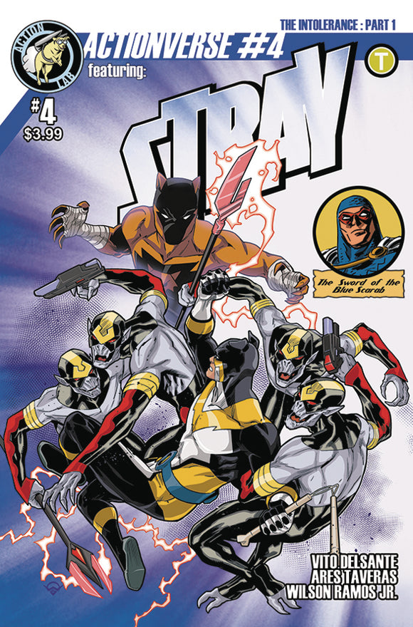 ACTIONVERSE ONGOING #4 STRAY CVR A IZAAKSE