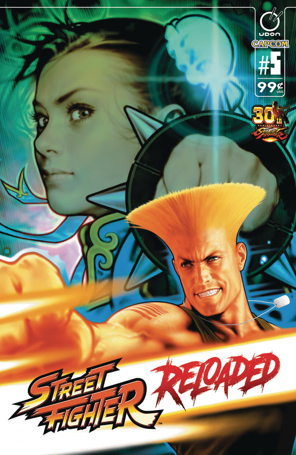 STREET FIGHTER RELOADED #5 (OF 6)