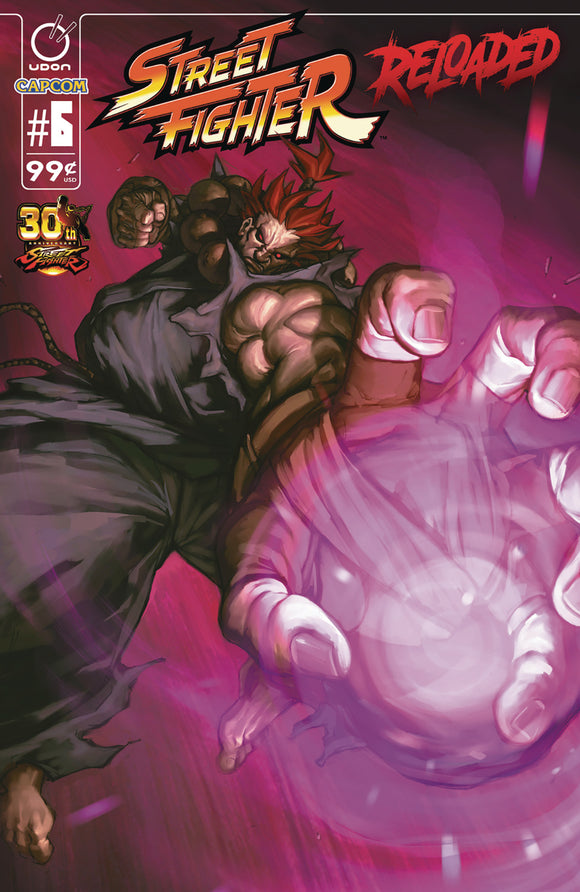 STREET FIGHTER RELOADED #6 (OF 6)