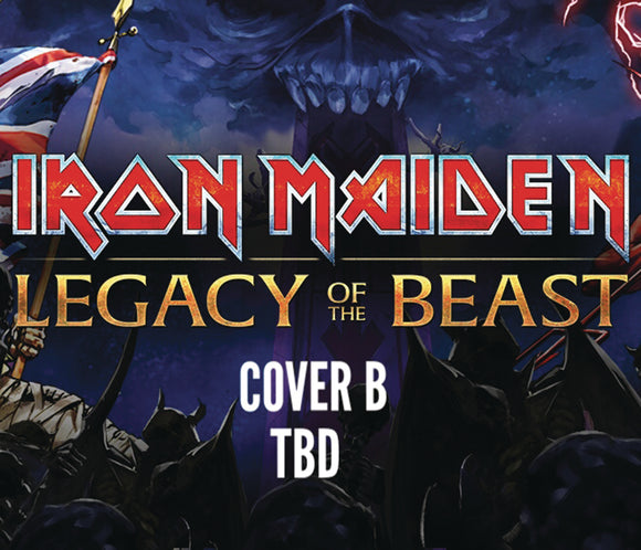 IRON MAIDEN LEGACY OF THE BEAST #5 (OF 5) CVR B TBD (C: 0-0-