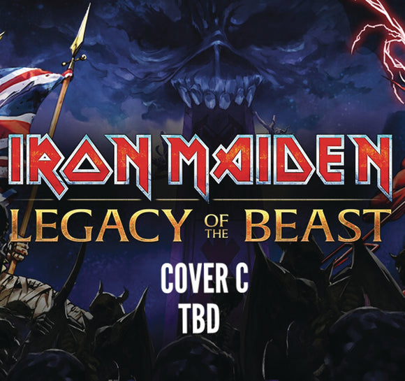 IRON MAIDEN LEGACY OF THE BEAST #5 (OF 5) CVR C GORDNER (C: