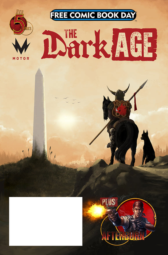FCBD 2019 DARK AGE AFTERBURN ONE SHOT (NET)