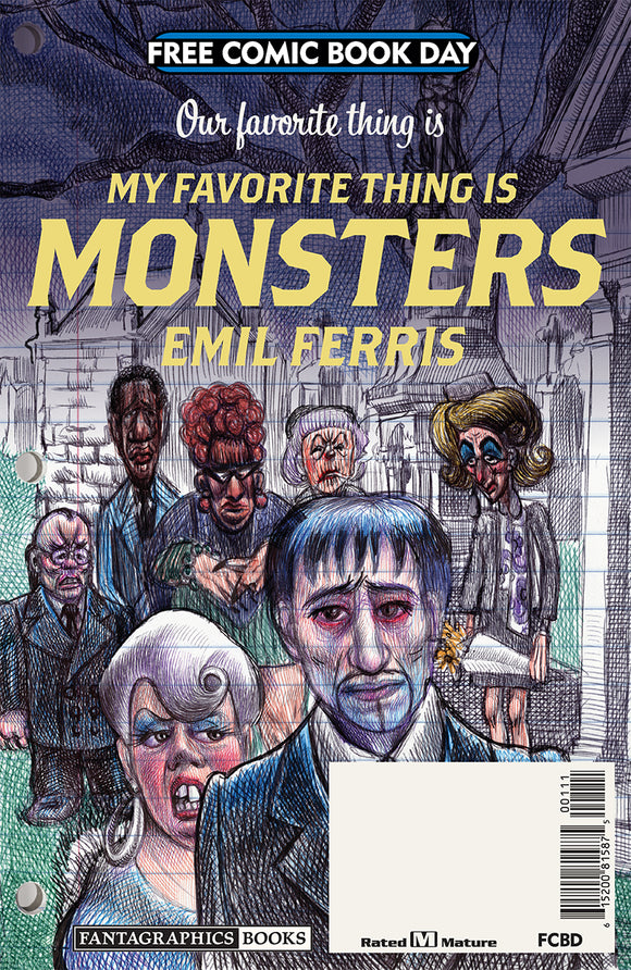 FCBD 2019 MY FAVORITE THING IS MONSTERS (NET) (MR)