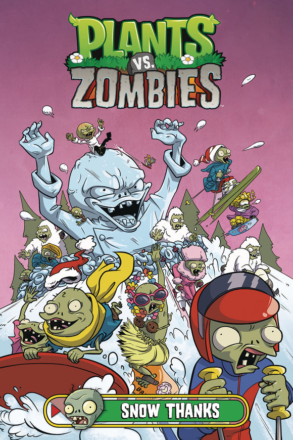 (USE AUG198633) PLANTS VS ZOMBIES HC SNOW THANKS (C: 1-0-0)