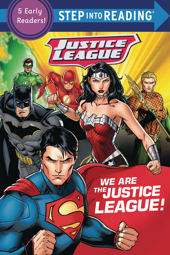 WE ARE THE JUSTICE LEAGUE STEP INTO READING SC (C: 0-1-0)