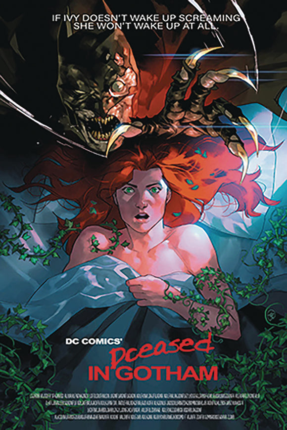 DF DCEASED #2 GAUDIANO SGN RARE HORROR HOMAGE VAR