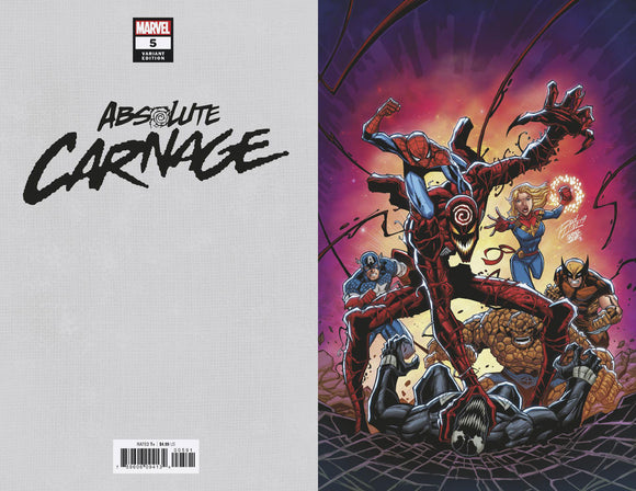 ABSOLUTE CARNAGE #5 (OF 5) RON LIM VIRGIN VAR AC