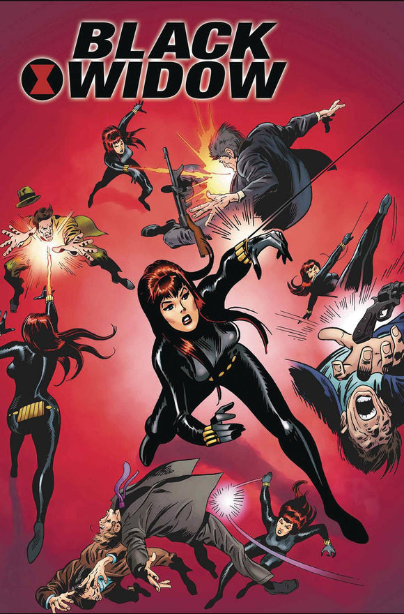 BLACK WIDOW POSTER BOOK TP