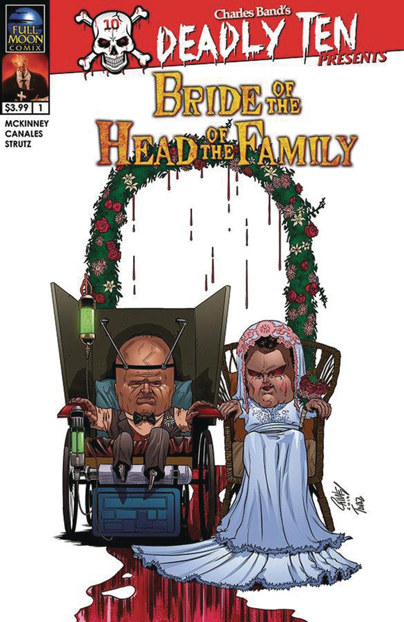 DEADLY TEN PRESENTS BRIDE OF HEAD OF FAMILY CVR A CANALES (M