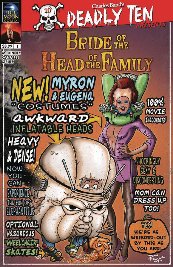 DEADLY TEN PRESENTS BRIDE OF HEAD OF FAMILY CVR B FOWLER (MR