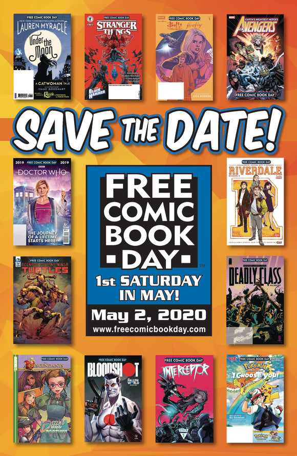 FCBD 2020 MINI-POSTER (BUNDLE OF 50) (NET)