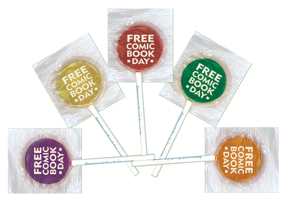 FCBD 2020 LOLLIPOPS (PACK OF 20) (NET)