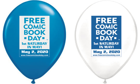FCBD 2020 BALLOONS (PACK OF 20) (NET)