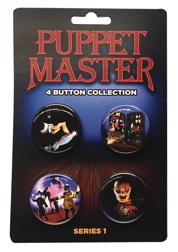 PUPPET MASTER BUTTON COLLECTION SER1 4PK (NET) (C: 1-1-2)