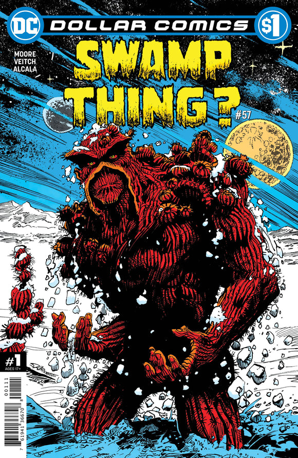 DOLLAR COMICS SWAMP THING #57