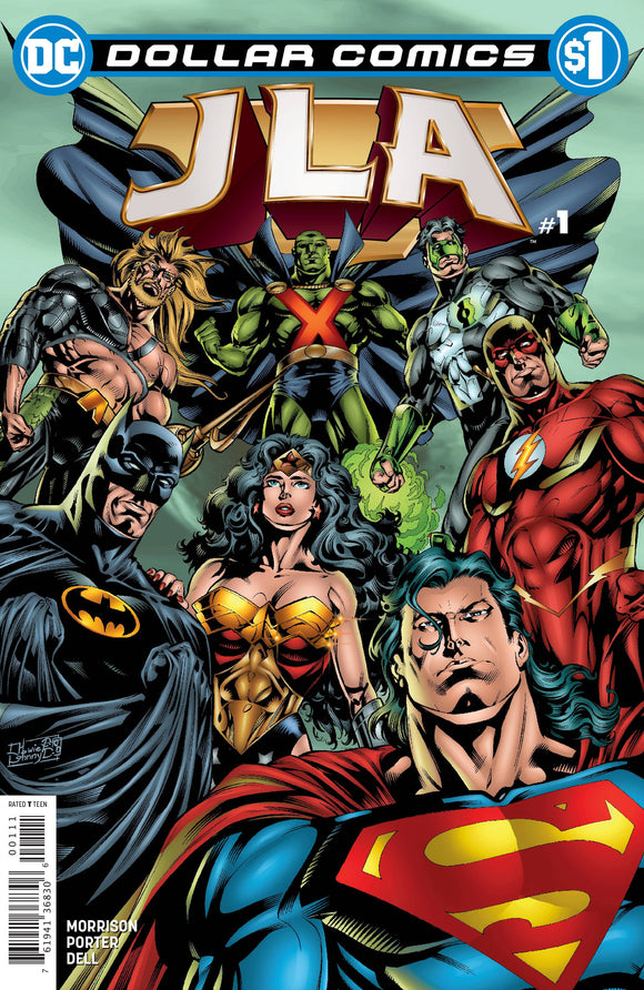 DOLLAR COMICS JLA #1