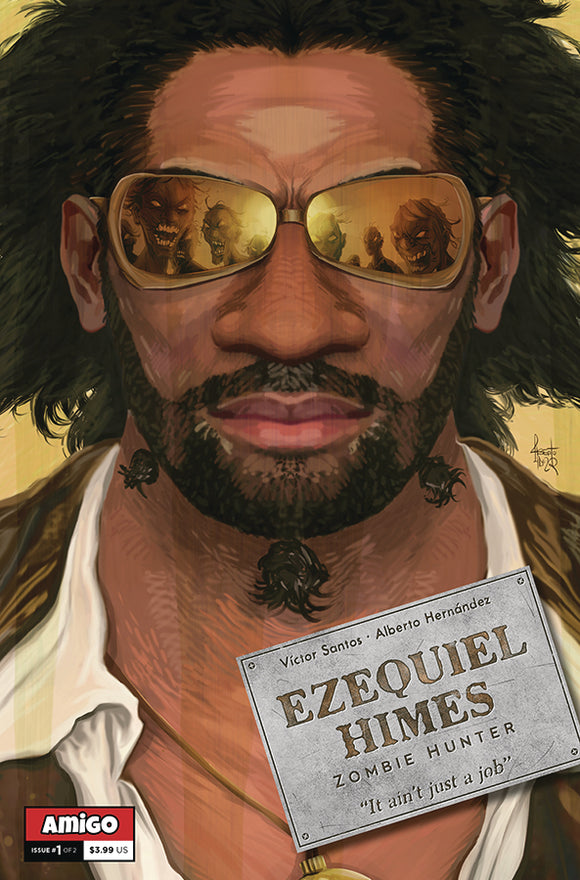 EZEQUIEL HIMES ZOMBIE HUNTER #1 (OF 2)