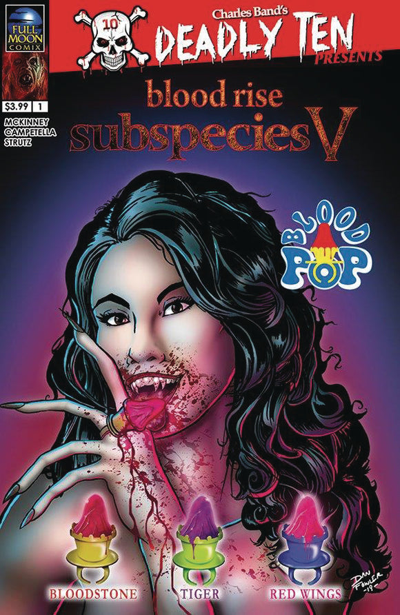 DEADLY TEN PRESENTS SUBSPECIES CVR B FOWLER (MR)
