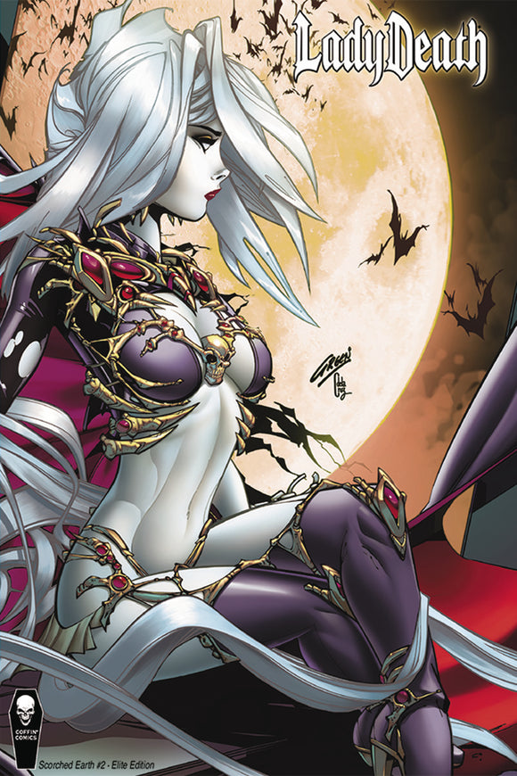 LADY DEATH SCORCHED EARTH #2 (OF 2) 10 COPY PAUL GREEN INCV