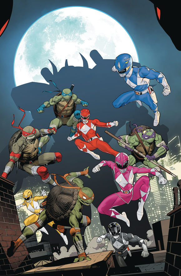 POWER RANGERS TEENAGE MUTANT NINJA TURTLES #5 CVR A MORA (C: