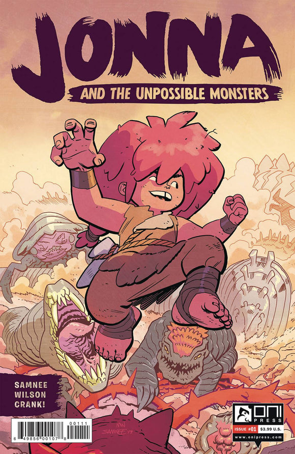 JONNA AND THE UNPOSSIBLE MONSTERS #1 CVR A SAMNEE (RES)