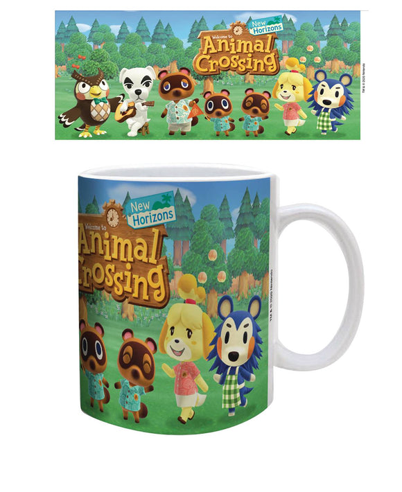 ANIMAL CROSSING NEW HORIZONS CAST LINE UP MUG (C: 1-1-2)