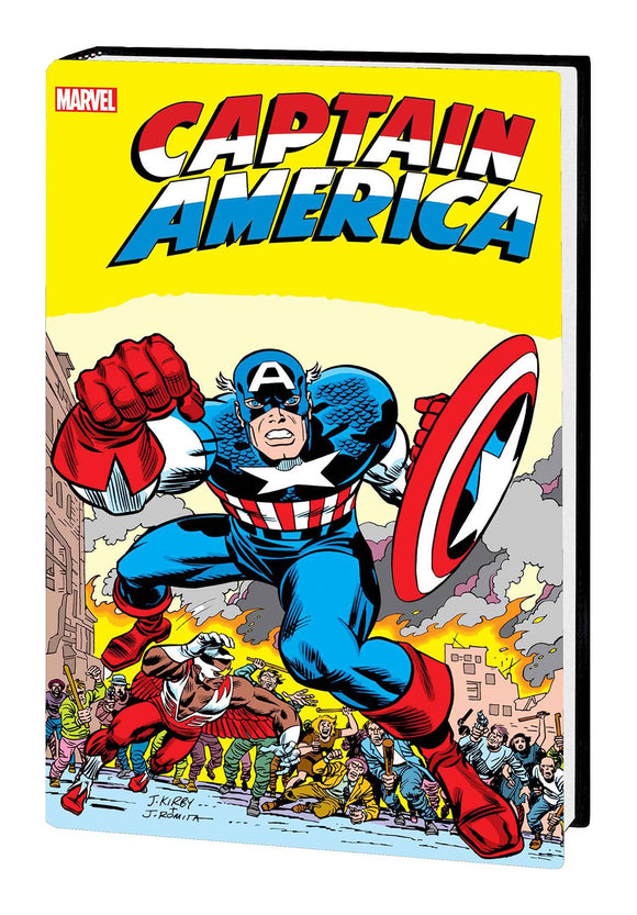 CAPTAIN AMERICA BY JACK KIRBY OMNIBUS HC NEW PTG