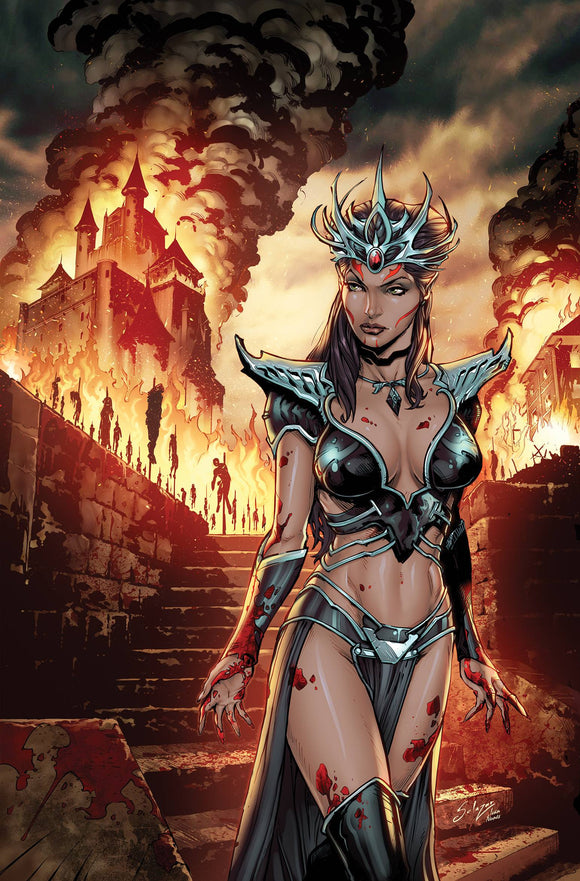 MYTHS & LEGENDS QUARTERLY DARK PRINCESS CVR A SALAZAR