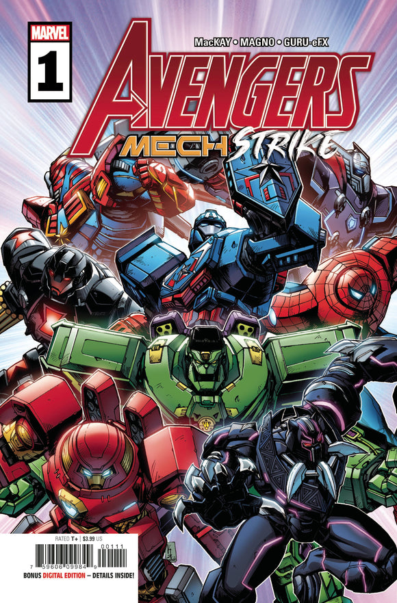 AVENGERS MECH STRIKE #1 (OF 5)