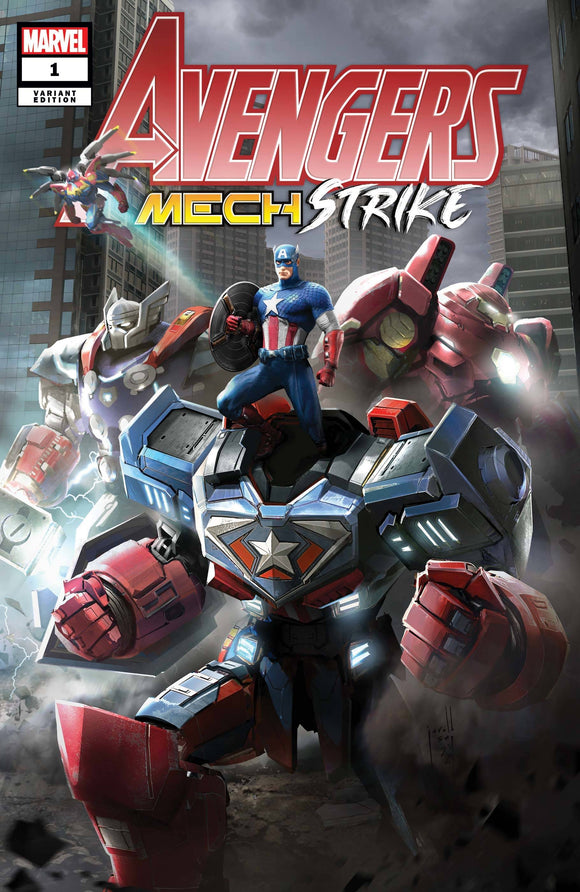 AVENGERS MECH STRIKE #1 (OF 5) SNG VAR