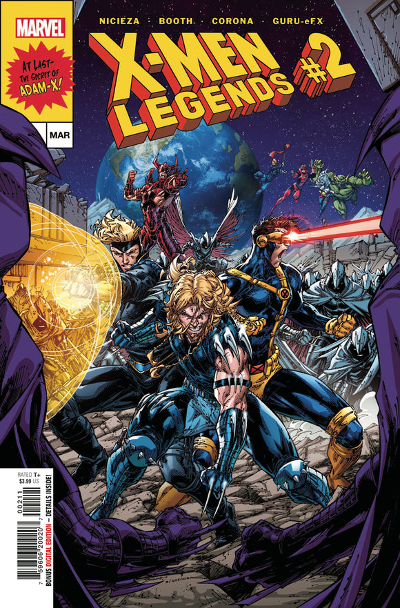 X-MEN LEGENDS #2