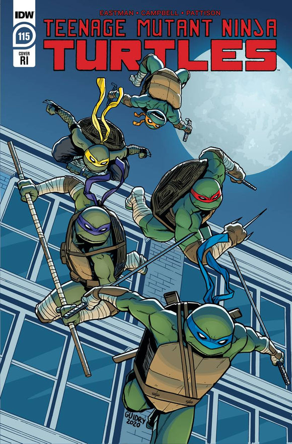 TMNT ONGOING #115 10 COPY INCV GAVIN GUIDRY (NET)