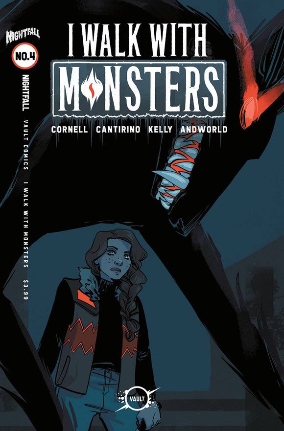 I WALK WITH MONSTERS #4 CVR B HICKMAN (MR)