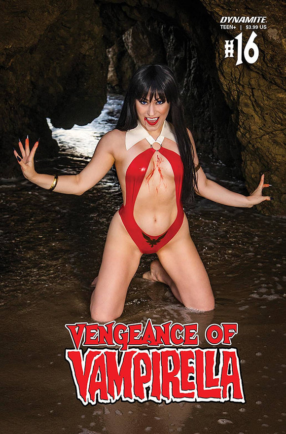 VENGEANCE OF VAMPIRELLA #16 CVR D HOLLON COSPLAY