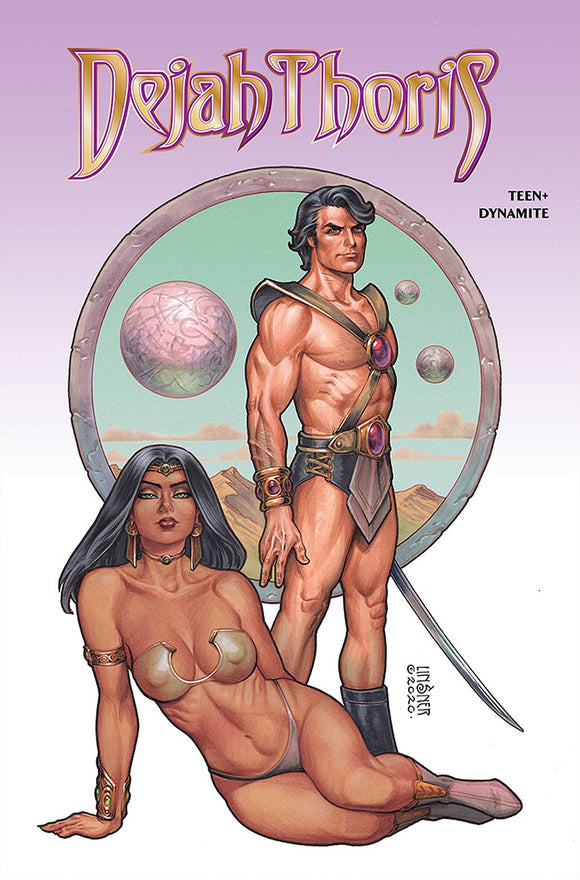 DEJAH THORIS WINTERS END ONE SHOT CVR A LINSNER