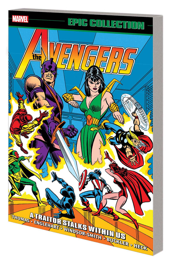 AVENGERS EPIC COLLECTION TP A TRAITOR STALKS AMONG US