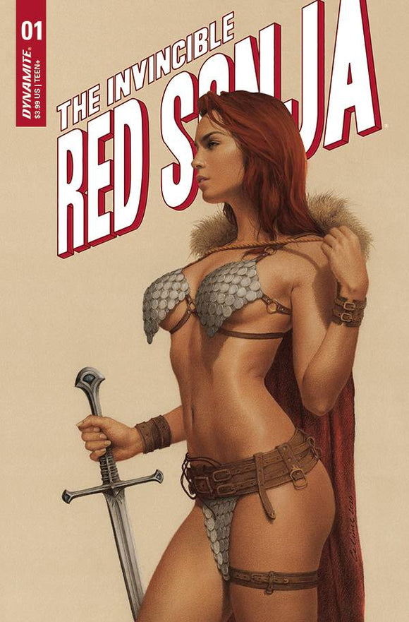 INVINCIBLE RED SONJA #1 CVR C CELINA