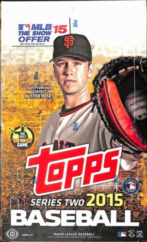 TOPPS 2015 BASEBALL SERIES 2 T/C BOX (NET) (C: 1-1-1)