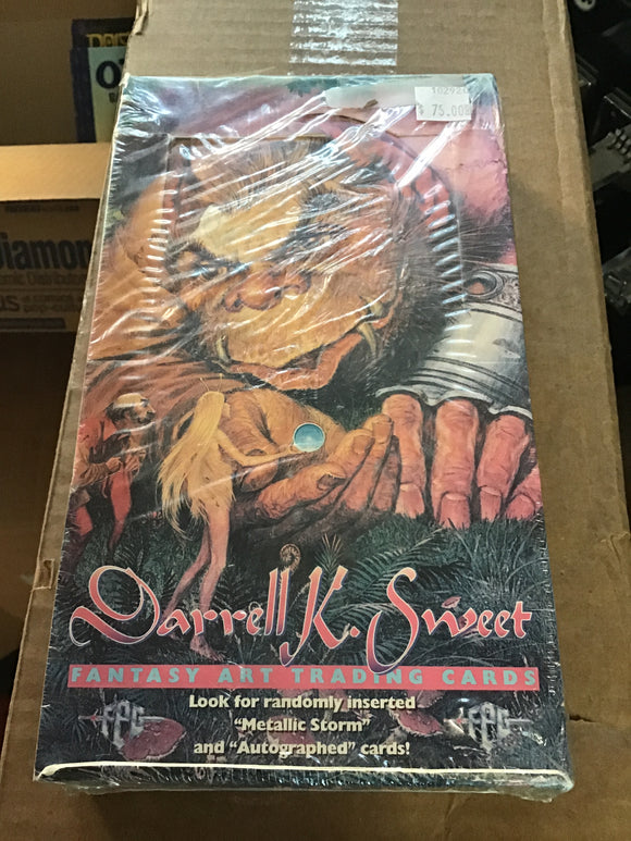 Darrell K. Sweet Fantasy Art Trading Cards 1994 Sealed Box