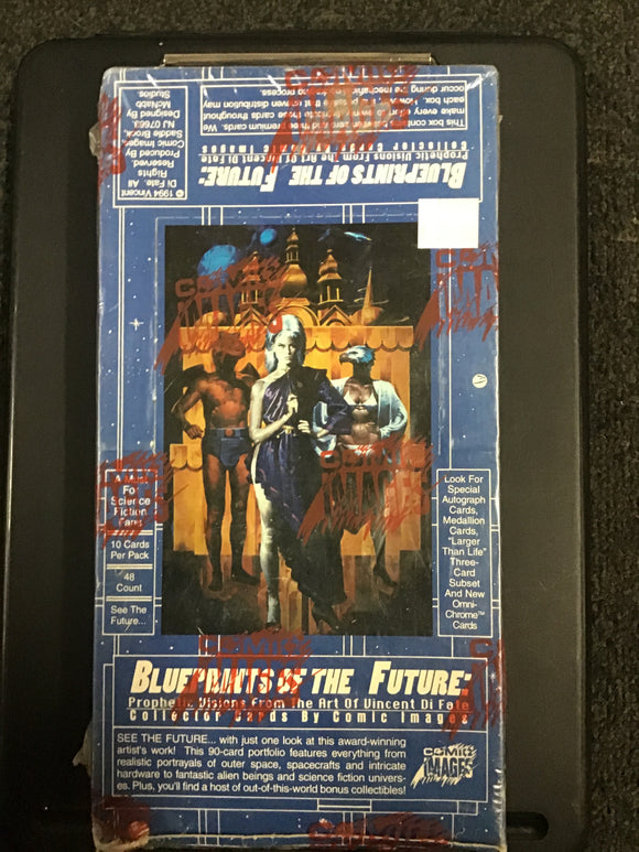 Blueprints of the future  art of Vincent Di Fate sealed box
