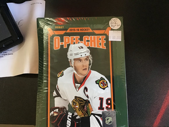 2015-16 o-pee-cee hockey box