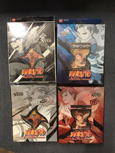 NARUTO CCG CURSE OF THE SAND THEME DECKS ALL 4