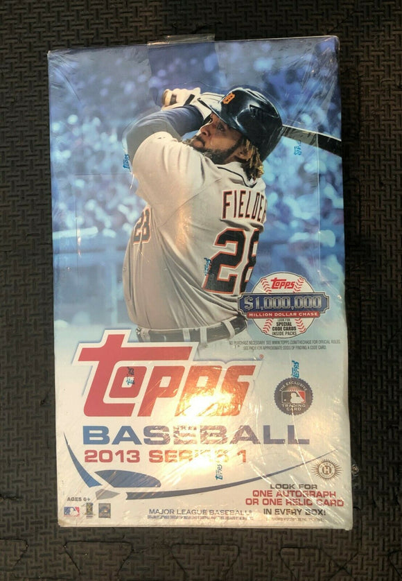 TOPPS 2013 BASEBALL SERIES 1 T/C BOX (NET) (C: 1-1-2)