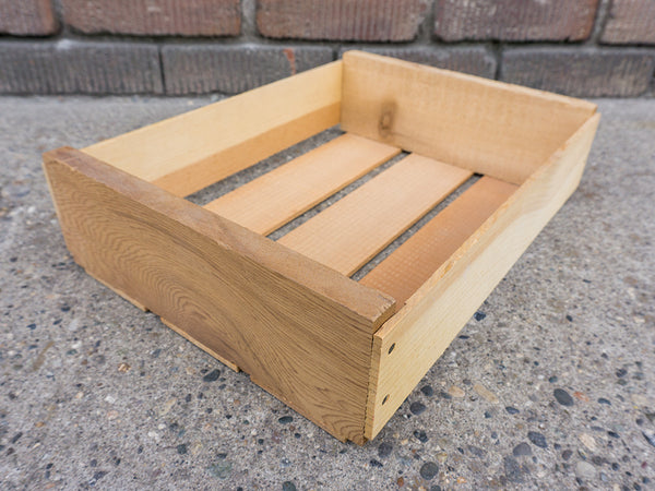Handmade Pine Wood Box 14x10.5x3.5