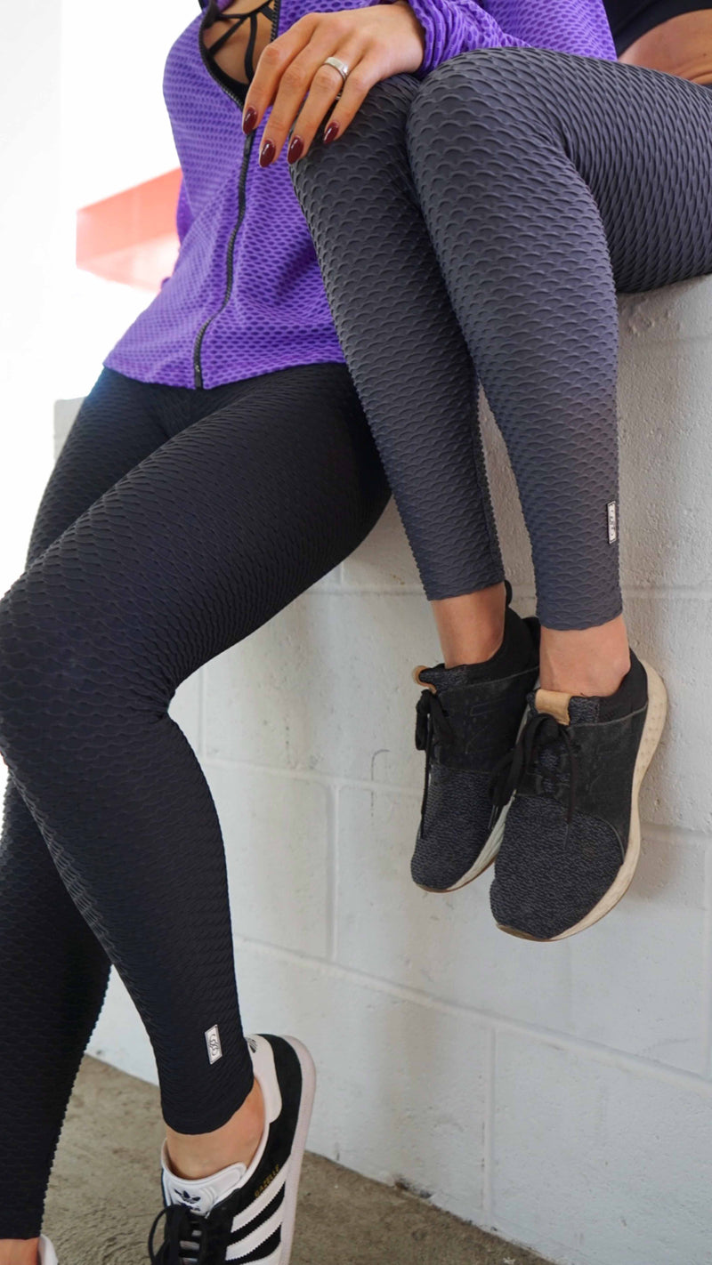 Wave Legging - Black